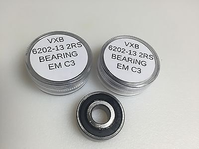 6202-13 Ball Bearing 13X35X11Mm 6203-2Rs-13 13Mm Bore Special Motor Bearing