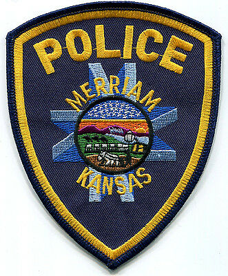 Merriam Kansas Police Patch // Old & Obsolete Style