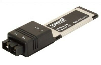 Transition Networks Nec-Fxe-Lc-01 Pcie Expresscard Fiber Adapter - New!