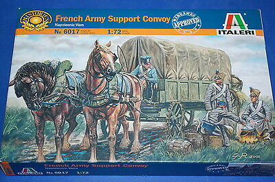 Italeri 6017 - French Army Support Convoy   scala 1/72