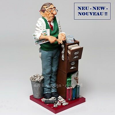 "GUILLERMO FORCHINO Professionals - ""THE ACCOUNTANT"" - Figur - FO85536 NEU !!"