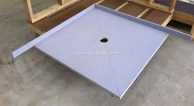 Waterproof Tile Over Tray Up To 1200*900mm Shower Base Leak Prevention