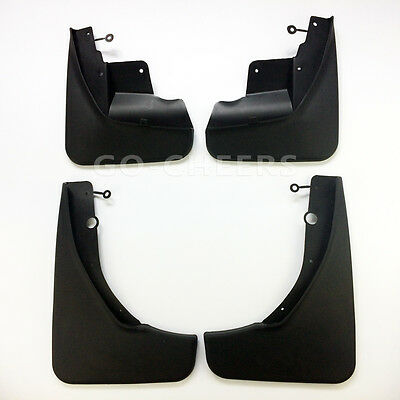 New 4PCS  Mudguards Splash Guards Mud Flaps For 2011-2016 Jeep Grand Cherokee