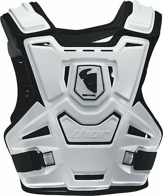 Thor Sentinel Adult S/M Protector White/Black MX/Motocross/Enduro/Quad
