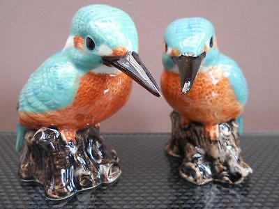 Kingfisher Salt and Pepper Pots Kingfisher Cruet Set Supplied Gift Boxed