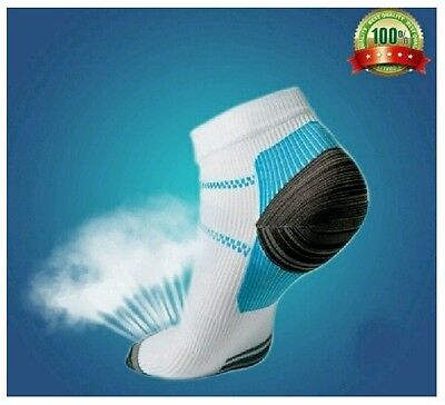Foot Compression Socks For Plantar Fasciitis Heel Spurs Arch Pain Sport (1 pair)