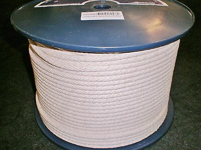"COTTON SASH CORD ROPE 8mm x 200m REEL. ""BRAND NEW"""