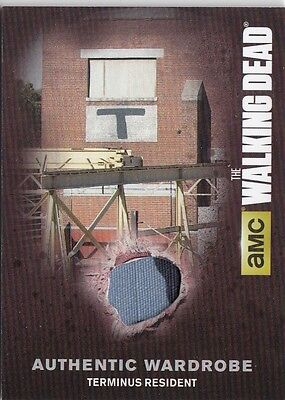 The Walking Dead Season 4 Pt.1 - M10.1 Terminus Resident Wardrobe Card (2)