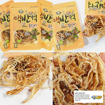 GANGWON Stone-plate Grilled Dried Squid snack, refreshments, nutritious snack