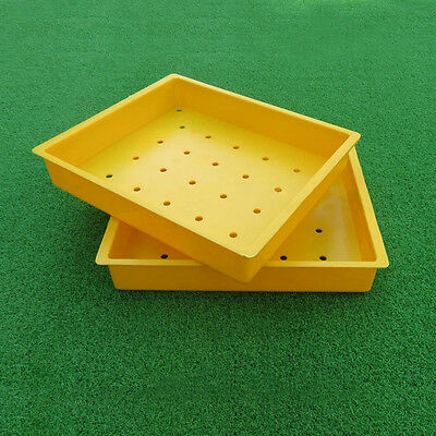 New ABS Plastic Yellow Golf Ball Box 30 Mounted