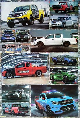 "Isuzu D-Max (2002-Now) POSTER 23""x34"" Pickup Truck General Motors Holden Rodeo"