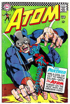 ATOM #27 (VF) High Grade! The Panther! DC Silver-Age 1966 Classic