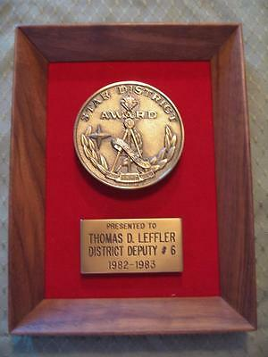 1982-1983 Knights Of Columbus Star District Award, District Deputy # 6