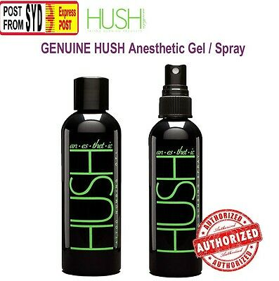 tattoo HUSH anesthetic Tattoo Numbing Gel 60g 2oz / Spray More Powerful cream