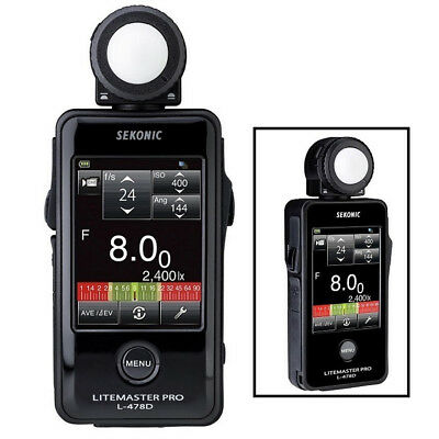 New 100% Genuine Sekonic L-478D LiteMaster Pro Light Meter L478D