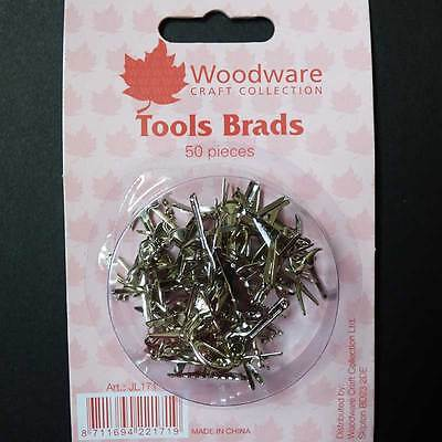 Woodware Tools Brads pack of 50