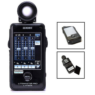 New 100% Genuine Sekonic L-478DR LITEMASTER PRO Light Meter for PocketWizard