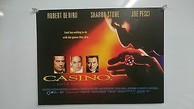 Casino (1995) Robert De Niro Sharon Stone Joe Pesci UK Mini Poster Original