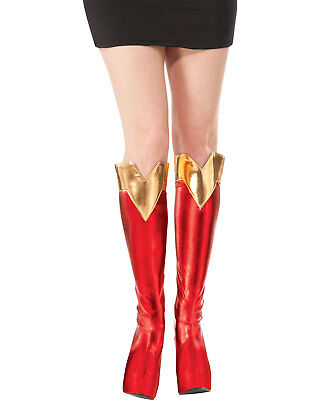 Morris Costumes Women's Supergirl Boot Tops Accessory One Size. RU32210