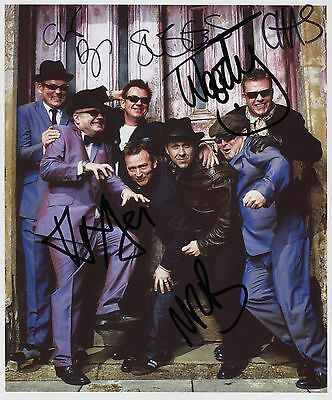 Madness FULLY  SIGNED Photo 1st Generation PRINT Ltd, No'd + Certificate /2