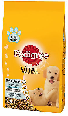 Pedigree Complete Puppy Dry Dog Food Chicken / 10kg