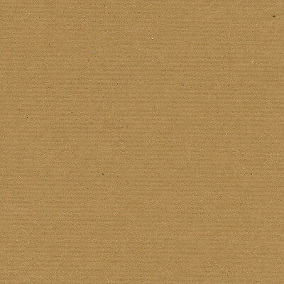 "A6 A5 A4 A3 A2+ 12""x12"" Eco Ribbed Brown Kraft Paper 100% Recycled 150gsm 220mic"