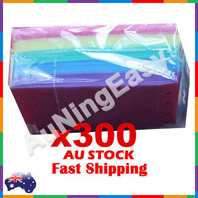 300X High quality 5 Colors CD DVD plastic sleeves Double side storage Ebox Brand