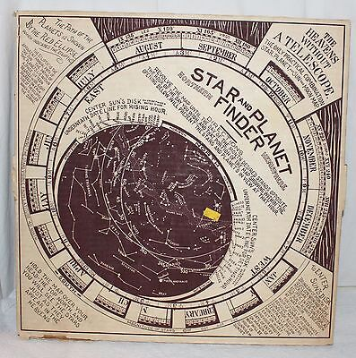 Reproduction Of An Early American Star And Planet Finder Kontrell Ind Ny