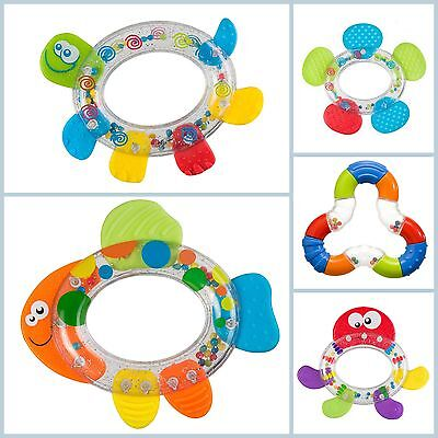 Baby Educational Rattle with Teether 3m+ Teething Toy // Grzechotka z gryzakiem