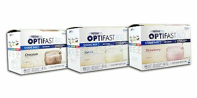 OPTIFAST® 800 POWDER SHAKES | 6 BOXES | CHOCOLATE, VANILLA or STRAWBERRY | NEW