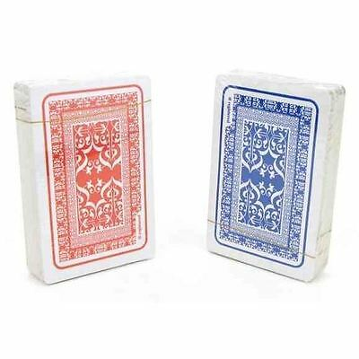 lot de 2 jeux de 54 cartes deluxe