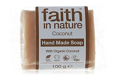 Faith in Nature Soap Coconut 100gm (Pack of 6)