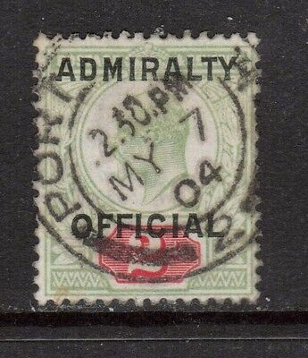 Great Britain #O81 XF Used Dated Gem