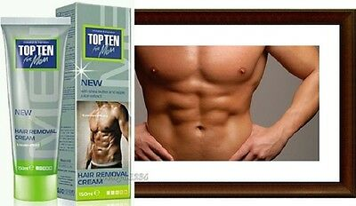 Top Ten Hair Removal -FREE PARABEN 150ml.Hair Removal cream for men+FREE DELIVER