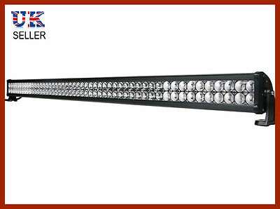 "52"" LED Light Bar Spot Flood Strobe Work Lamp 300W Ideal LANDROVER DEFENDER"