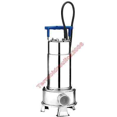Loaded Water Submersible Electric Pump RIGHT100M EBARA0,75kW 1x230 50Hz Cable5m