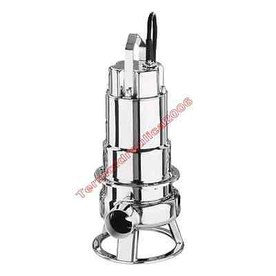 Waste Water Submersible Electric Pump DW100 EBARA0,75kW 400V 50Hz Cable10 Steel