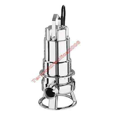 Waste Water Submersible Electric Pump DW300 EBARA2,2kW 400V 50Hz Cable10m Steel