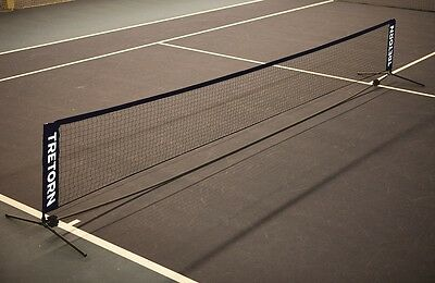 Tretorn 6M Foldaway Portable Mini Tennis Net. Ideal for Clubs,Coaches, or Home