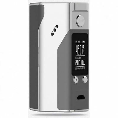 GENUINE WISMEC REULEAUX RX200S WITH AUTHENTICITY CODE Silver /Grey