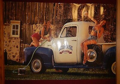 Icehouse Brewery Beer : Hot Girls Babe 20 x 30 Poster Mancave Art Car Wash Truck