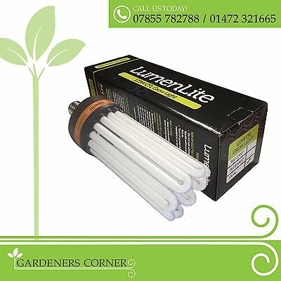 Hydroponic Dual Spectrum CFL Compact Fuorescent Lighting Grow Flower Light Bulb