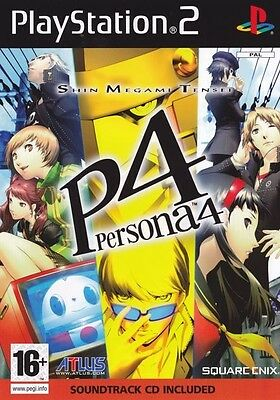 Persona 4 (pal Import)  - PlayStation 2 game - BRAND NEW