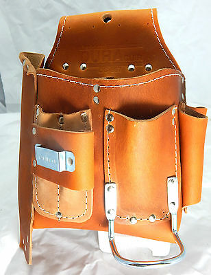 DURACUIR Construction Drywall Leather Tool Pouch Carpenter Occidental