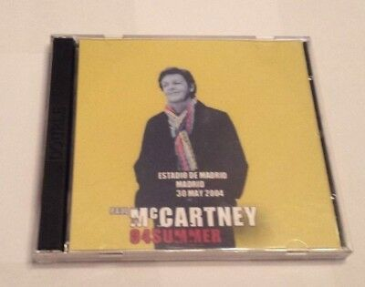 PAUL McCARTNEY Recorded LIVE at MADRID SPAIN 2 CD SET May 30th 2004 COLLECTIBLE