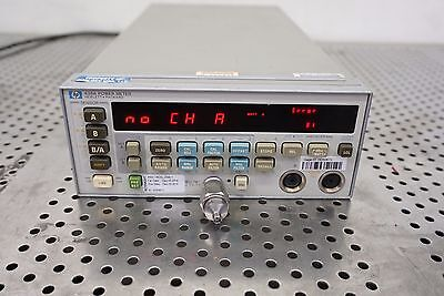 HP Agilent 438A  Power Meter with option 002