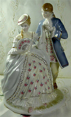 """Beautiful Worcester """" The Tryst """" Figurine Ltd Edition  No. 162 Of 2450"""