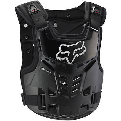 Fox Racing NEW Mx ProFrame LC Black Chest Protector Guard Motocross Body Armour