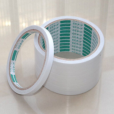 1x Roll Double Sided Tape 1 Meter Posters Pictures Crafting Art Adhesive SER