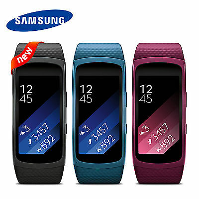 Samsung SM-R3600 Gear Fit2 GPS Fitness tracker Smart Watch Band